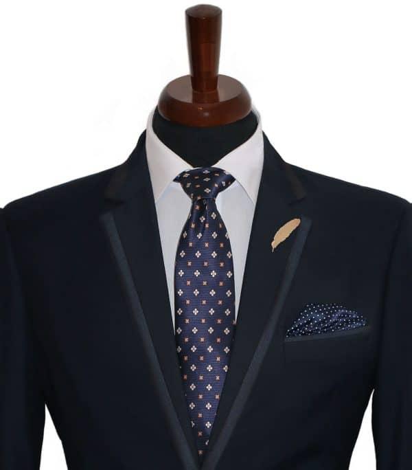 Business Blue Tie Set