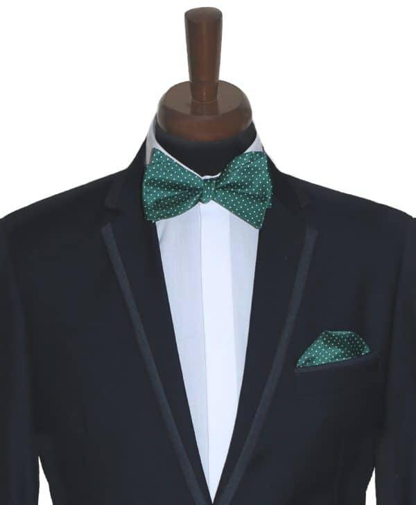 Zelený Glossy Bow Set