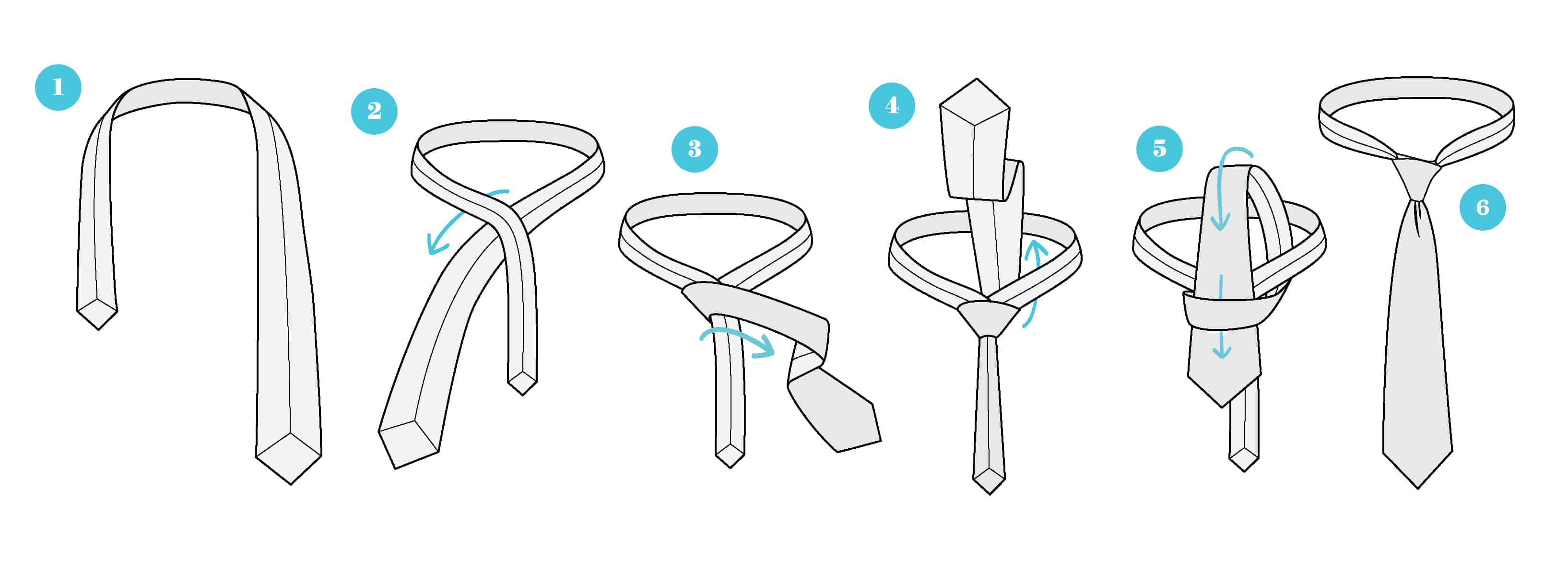 ako-uviazat-kravatu-jednoduchy-uzol