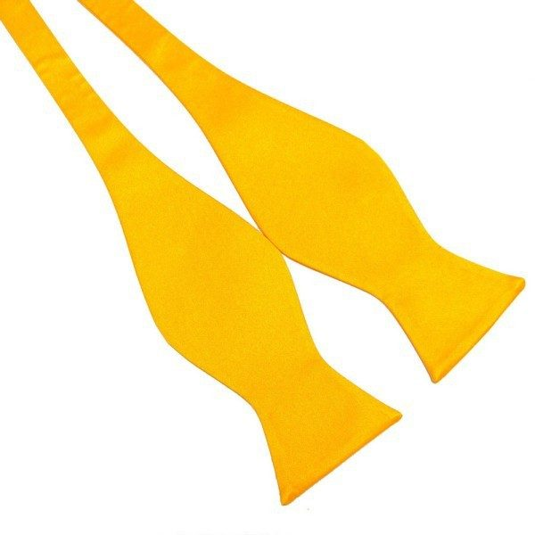 Žltý viazací motýlik Silk