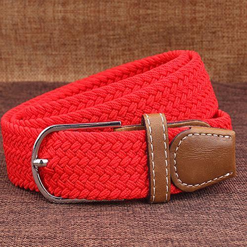 Červený elastický opasok