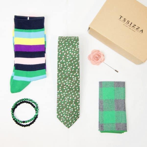 Greeny Tie Box